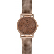 Armbanduhr Granit Edelstahl rose