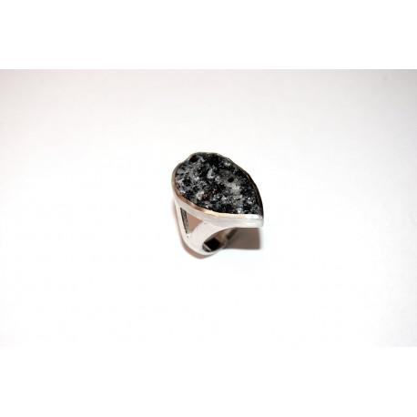 Granitring Silber
