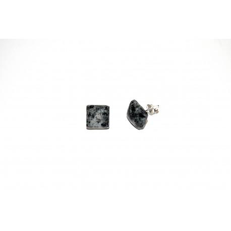 Granitstecker matt Quadrat 12mm