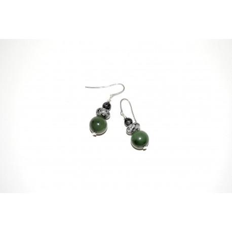 Granitpendel mit Jade